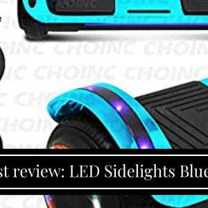 Top rated: LED Sidelights Bluetooth Speaker Hoverboard Electric Self Balancing Scooter LED Ligh...