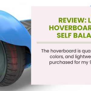 "Best reviewed: LIEAGLE Hoverboard, 6.5"" Self Balancing Scooter Hover Board with Bluetooth, UL22..."