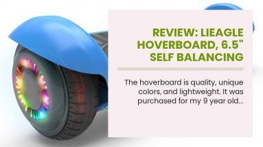 """Best reviewed: LIEAGLE Hoverboard, 6.5"""" Self Balancing Scooter Hover Board with Bluetooth, UL22..."""