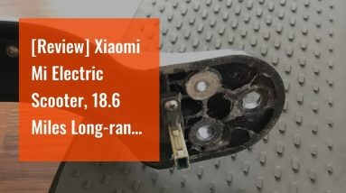 Best reviewed: Xiaomi Mi Electric Scooter, 18.6 Miles Long-range Battery, Up to 15.5 MPH, Easy...