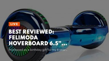 """Trusted review: Felimoda Hoverboard 6.5"""" Self Balancing Scooter, LED Light Wheel Scooter Two-Wh..."""