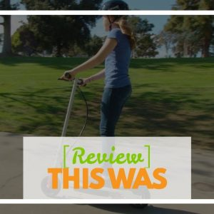 Best reviewed: Razor E200 Electric Scooter - White - FFP