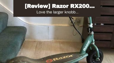 Best reviewed: Razor RX200 Electric Off-Road Scooter