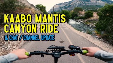 Chatting & Cruising On My Kaabo Mantis || Rides with RK9