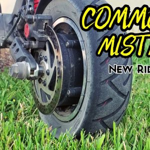 Common Mistakes New Electric Scooter Owners Make