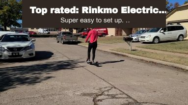 Honest review: Rinkmo Electric Scooter for Adults- Portable Folding Commuting Electric Kick Sco...