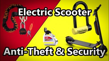 Electric Scooter Locks, Anti Theft & Security