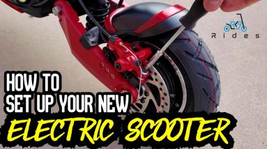 Electric Scooter Setup and Adjustment \\ Handlebars, Brakes, P-Settings, Etc.
