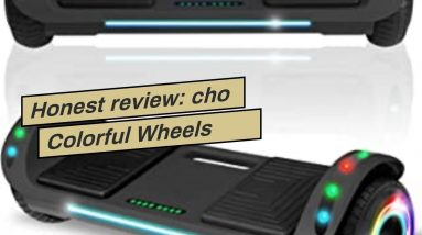 [Review] cho Colorful Wheels Series Hoverboard Safety Certified Hover Board Electric Scooter wi...