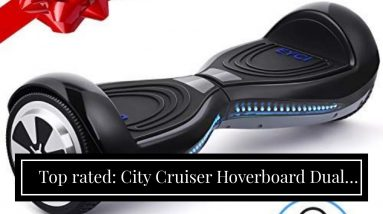 Honest review: City Cruiser Hoverboard Dual Motors Electric Self Balancing Scooter with Built-i...