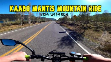 Flying Through the Mountains on My Kaabo Mantis || Rides with RK9