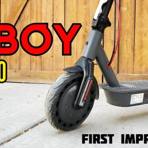 Hiboy S2 Pro Electric Scooter First Impressions
