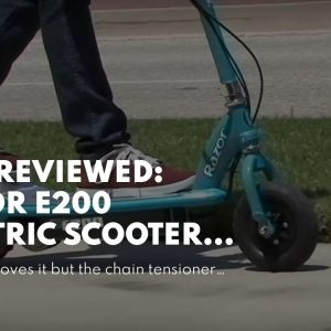 Honest review: Razor E200 Electric Scooter - White