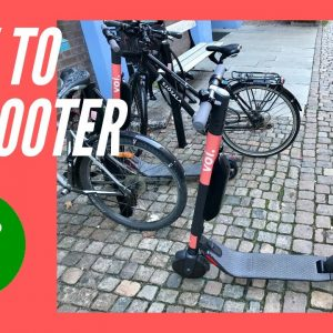 How to ride an Electric Scooter (E Scooter)