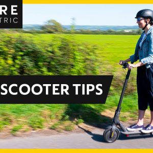 How To Ride an Electric Scooter Safely | 5 Super Easy Tips