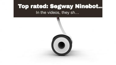 Best reviewed: Segway Ninebot Drift W1, Electric Roller Skates Hovershoes, Two Wheels self Bala...