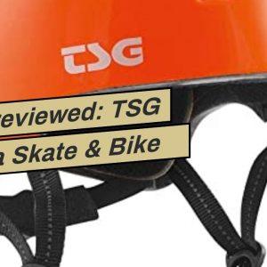 Review: TSG Meta Skate & Bike Helmet w/Dial Fit System  for Cycling, BMX, Skateboarding, Rolle...