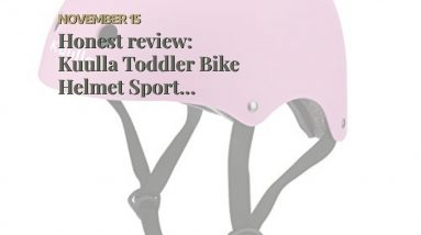 Review: Kuulla Toddler Bike Helmet Sport Helmets for Kids 3-10 Adjustable Bicycle Helmets for B...