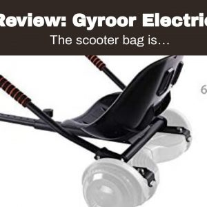 Trusted review: Gyroor Electric Scooter Bag, Waterproof Storage Scooter Bag Durable Multi-Purpo...