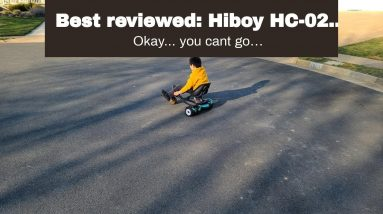 Top rated: Hiboy HC-02 Hoverboard Go Kart with Rear Suspension Seat Attachment Accessory for 6....
