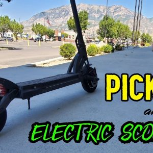 Picking Your First/Next Electric Scooter: A Guide