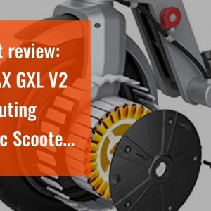 """Best reviewed: GOTRAX GXL V2 Commuting Electric Scooter - 8.5"""" Air Filled Tires - 15.5MPH & 9-1..."""
