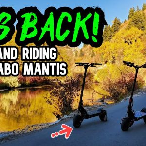 Return of the Kaabo Mantis! Fixing Issues and Riding
