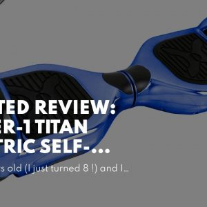 [Review] Hover-1 Titan Electric Self-Balancing Hoverboard Scooter