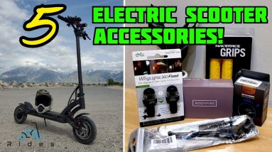 Reviewing 5 Electric Scooter Accessories!