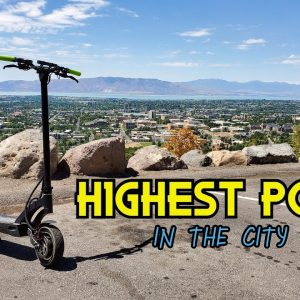 Riding to the Highest Point in the City + 1000 Sub Giveaway!