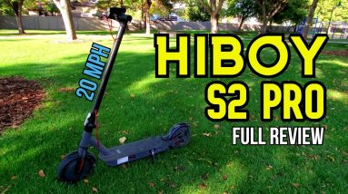 Hiboy S2 Pro Electric Scooter Full Review! Reliable and Affordable 20 MPH Scooter