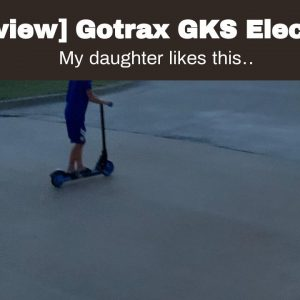 Best reviewed: Gotrax GKS Electric Scooter for Kids Age of 6-12, Kick-Start Boost and Gravity S...