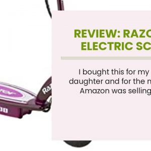 Top rated: Razor E100 Electric Scooter