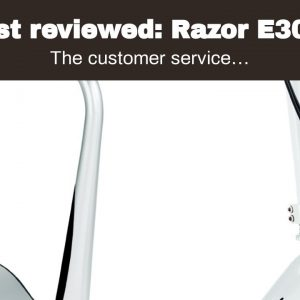 Top rated: Razor E300S Seated Electric Scooter - Sweet Pea