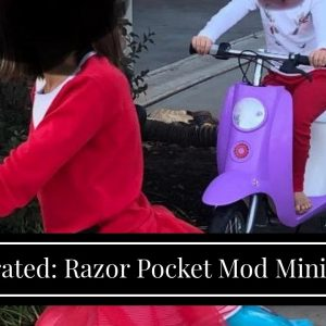 Top rated: Razor Pocket Mod Miniature Euro-Style Electric Scooter
