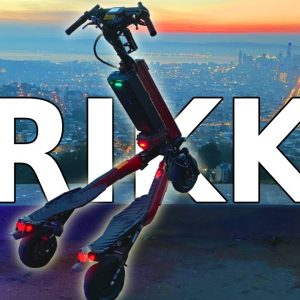 TRIKKE SP33DR | An Triple Motor Ride With A Leg Up on Electric Scooters