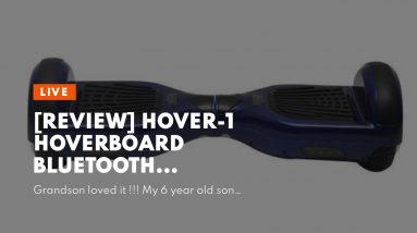 Honest review: Hover-1 Hoverboard Bluetooth Speaker Self Balancing Hover Board Electric Scooter...