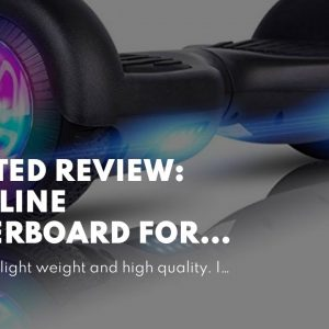 "Trusted review: VEVELINE Hoverboard for Kids 6.5"" Two-Wheel Self Balancing Hoverboard"