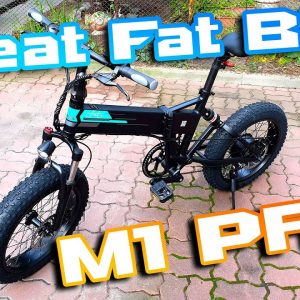 FIIDO M1 Pro FatBike 🚀 This is Best Moped Foldable Ebike I tested so far ⚡ Review 1st ride 🏴‍☠️