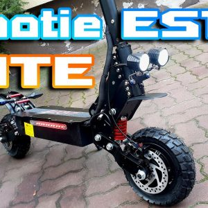 "Laotie ES18 LITE 🛴 Best suspension ⚡ Bit Smaller Bit less powerful But 🚀 Part 1 "" Overview """