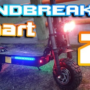 "Laotie Ti30 Landbreaker 🛴 Light 60v 38ah Beast😍🚀 Part 2 "" First test """