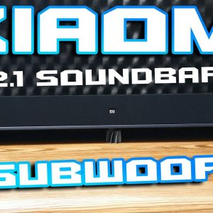 Xiaomi Soundbar 2.1 with Subwoofer & Bluetooth 🔊⚡ For $200 it's really not bad 🚀