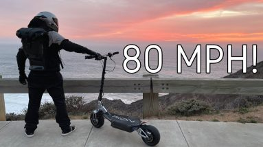 RION RE90 Electric Scooter Review | The World's Fastest Hyperscooter