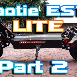 "Laotie ES18 LITE 🛴 Great Suspension & working range 40km+ ⚡ Part 2 "" Speed & power test ""🚀"