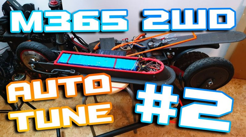"""Xiaomi M365 2 WD / AWD 🛴 Vesc and auto Motor Tune 🏴☠️  Part 2 """" One year later... 😒🤦♂️👼 """""""