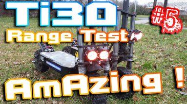 "Laotie Ti30 38AH 🛴 Range test 50km+ 🚀 My best scoot YET ⚡ Part 5 "" Bloody Test """