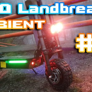 Laotie Ti30 Landbreaker 🛴 just Ambient Sound 21:9 Ultra Video📺  From 🌄 Forest to City  🌆 Relax 🍺🏴‍☠️