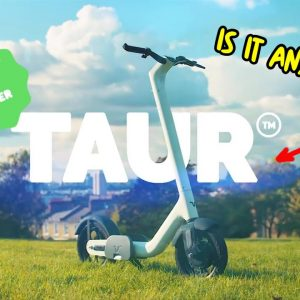 Looking at New Electric Scooters: TAUR Kickstarter Scooter