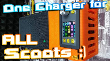 MultiCharger ‼ One charger to charge almost All Electric Scooters Ebikes Esk8 etc 🚀⚡Must have 🏴☠️🍕🍻