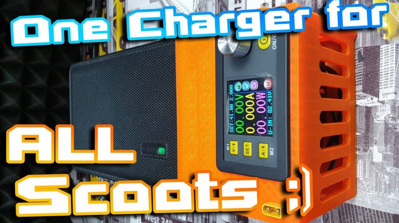 MultiCharger ‼ One charger to charge almost All Electric Scooters Ebikes Esk8 etc 🚀⚡Must have 🏴‍☠️🍕🍻